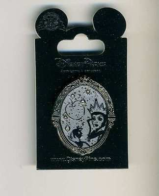 Disney Villain Constellation Jeweled Series Evil Queen Apple Silver Pin New