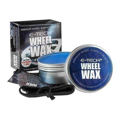 E-Tech Premium Carnuaba T1 Wheel Wax Polish-Alloy Wheel Surface Sealer/ Sealant