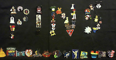 "DISNEY PINS 25 PIN LOT GREAT TRADERS ""NO DUPLICATES"" FASTEST SHIPPER IN USA!!"