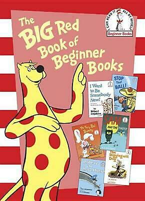 NEW The Big Red Book of Beginner Books by P.D. Eastman Hardcover Book (English)
