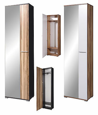 garderobenschrank kleiderschrank schrank wei 2 t rig mod so139 nussbaum walnuss. Black Bedroom Furniture Sets. Home Design Ideas