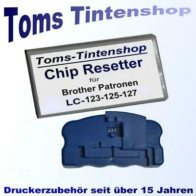 1 Chip Resetter für Brother  LC-123 LC-125 LC-127 Patronen Chipresetter