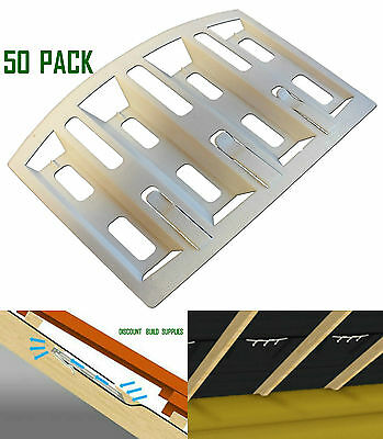 50 Pack Roofing Felt Lap Vent Ventilation Prevents Loft Roof Condensation DIY