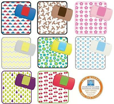 B.Box Nappy Wallet & Baby Change Mat Pad Diaper & Wipe Travel Storage Bbox Box
