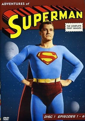 Adventures of Superman: The Complete First Season, Disc 1 - E DVD