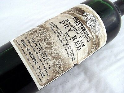 1970 CRITTENDENS Bin 3 Dry Red Shiraz Grenache H Isle of Wine