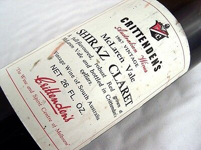 1967 CRITTENDENS Shiraz Claret H Isle of Wine