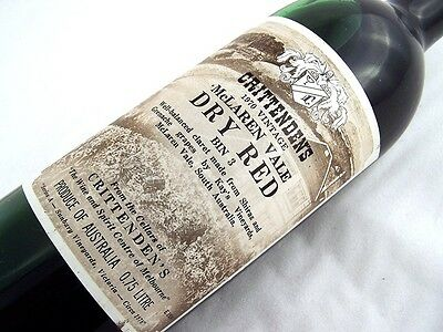 1970 CRITTENDENS Bin 3 Dry Red Shiraz Grenache A Isle of Wine