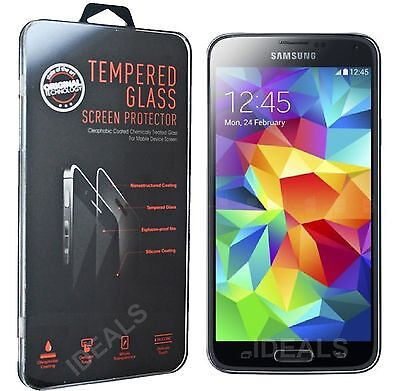 100% Genuine Gorilla Tempered Glass Film Screen Protector Samsung Galaxy S5 Mini