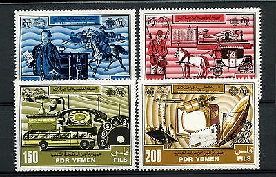 Yemen PDR 1983 SG#289-292 World Communications Year MNH Set #A59295