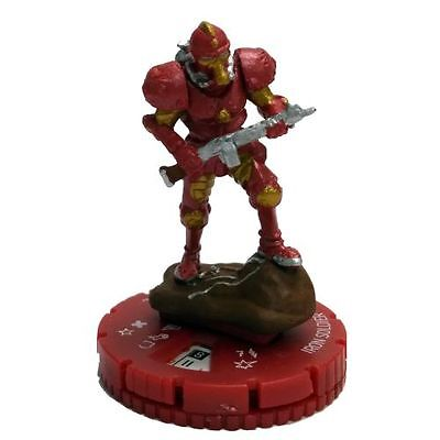 Marvel HeroClix • The Invincible Iron Man: #056 Iron Soldier (Chase Rare)