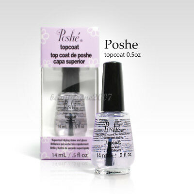 Poshe Super Fast Drying Shine And gloss Top Coat 0.5oz