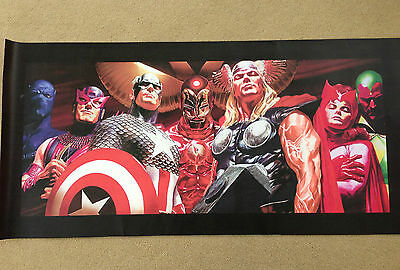AVENGERS, Ironman, Captain America - Canvas Graphic (Alex Ross) Bowen Design