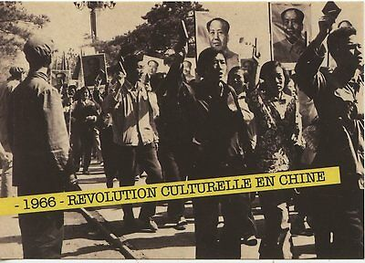 Carte Postale Photo / 1966 Revolution Culturelle En Chine