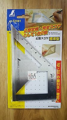 Shinwa 62081 Stainless Steel Japanese Try & Mitre Square Metric