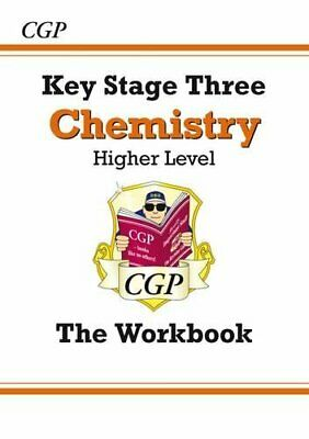 KS3 Chemistry Workbook - Higher (CGP KS3 Science) by CGP Books Paperback Book