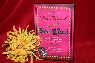 Too Faced Rock N Roll Candy Eye Shadow Eyeshadow Palette Collection New In Box