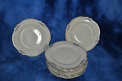 Homer Laughlin Virginia Rose Patrician Bread & Butter plate 11 available GUC  sb