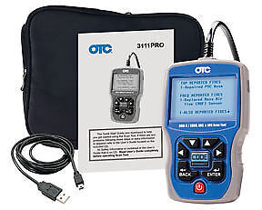 OTC 3111PRO Trilingual Automotive OBDII Scan Tool, CAN, ABS & Airbag - NEW