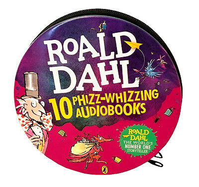 Roald Dahl Collection 10 Phizz-whizzing Audio books 29 CD Set Tin Pack NEW
