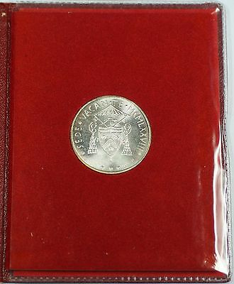 1978 Vatican Silver 500 Lire Uncirculated Coin