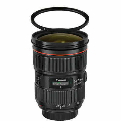 Canon EF 24-70mm f/2.8L II USM Zoom Lens w/82mm UV Filter
