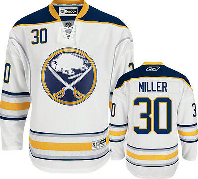 NHL Buffalo Sabres Ryan Miller Premier Ice Hockey Shirt Jersey