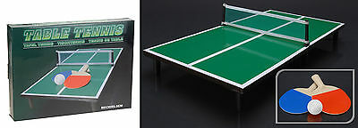 Childrens Mini Table Tennis Table Indoors or Outdoors Table Top Ping Pong Set