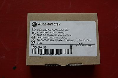 Allen Bradley Auxiliary Contact Side Mount 100-SA10