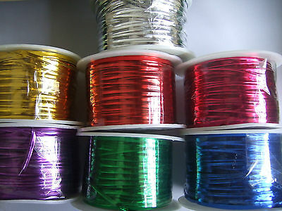 100 Yards One Roll Metallic Twist Ties Wire Bags Packaging  Accessories