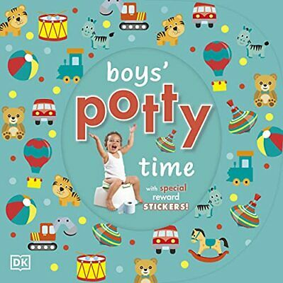 Boys' Potty Time (Dk) by DK Board book Book The Cheap Fast Free Post