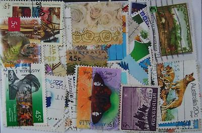 Australia, 100 stamps. Commemoratives. (182)