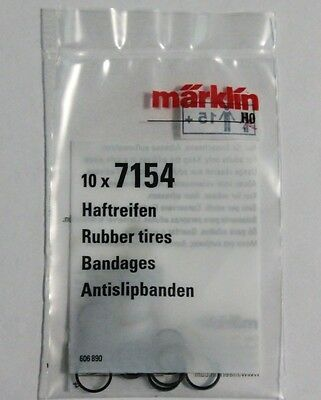 New! Marklin 7154  Traction Tires Pack of Ten, Superfast Low cost USA Shipping!