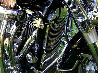 Kawasaki Vn2000 Vulcan Vn 2000 Stainless Radiator Cover Grill Guard Live To Ride