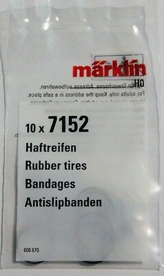 New! Marklin 7152  Traction Tires Pack of Ten, Superfast Low cost USA Shipping!