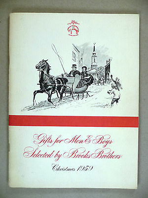 Brooks Bros. CATALOG - Christmas, 1959 -- Brooks Brothers