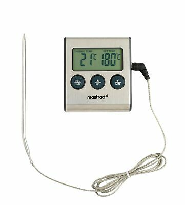 Mastrad Thermo Cooking Temperature Probe Thermometer Meat Cook Roast Bake New