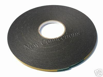 2mm Thick Double Sided Upvc Window Security Glazing Tape 25 Metres Long (ST04)