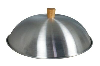 Swift Spice Traditional Aluminium Dome Shape Wok Lid for 34cm Wok