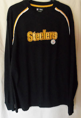 NFL : Pittsburgh Steelers Long Sleeved T-Shirt - New - Medium