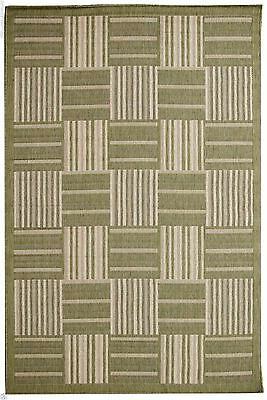 Contemporary Design Natural Sisal Flatweave Indoor/Outdoor Rugs (All Sizes)