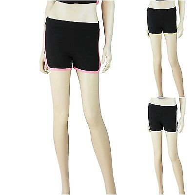 Women Work Out Casual Athletic Mini Running Yoga Shorts Active Hot Pants Cute