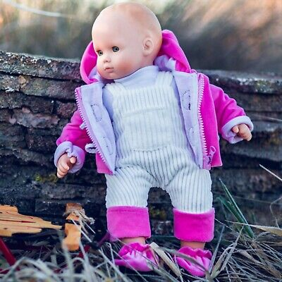 """15"""" Baby Doll Clothes Fits American Girl Bitty Twins Pants,Jacket,Shirt,Shoes PI"""