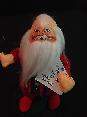 """Annalee Christmas 7"""" Santa's Letters  505000 – Made in USA"""