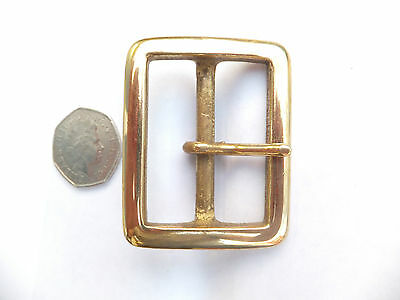 Strong Heavy Duty Solid Brass buckle Leather craft  6 sizes you choose b30