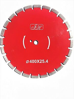 "16"" (400mm) X 50/25.4mm Diamond Blade. Brick saw blade. Diamond Saw Blade"
