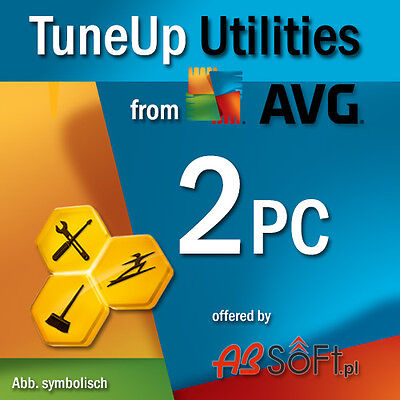 TuneUp Utilities 2017 2 PC Tune Up Vollversion Tune Up /Nf.v. 2016 / AVG