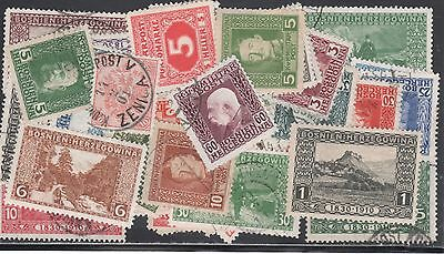 Bosnia & Herz  Stamp Collection -- 100 Different -- Top Quality