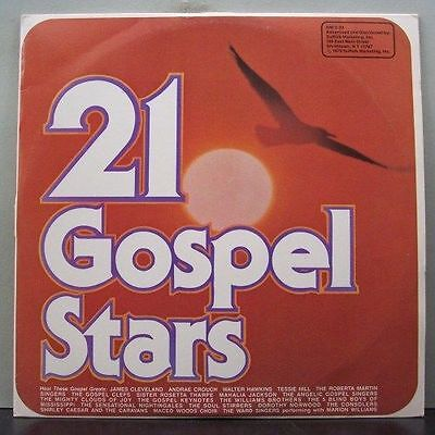 (o) V.A. 21 Gospel Stars (2-LP, USA)