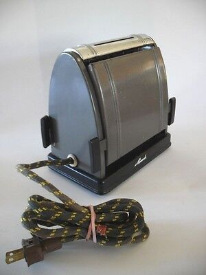 Vintage 1930's MIRACLE Flapper Electric Antique TOASTER 2-Slice NO. 210 Art Deco